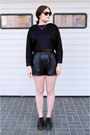 Black-tuk-shoes-black-zara-sweater-black-zara-shorts
