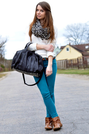 turquoise Forever 21 jeans