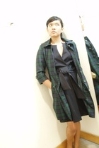 Elisa from metro deptstore coat - Elisa from metro dept store dress - casio acce