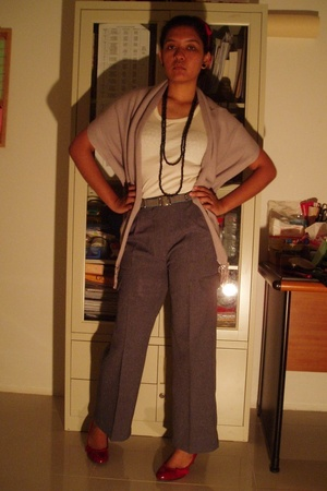 Monsoon accessories - NoirSurBlanc suit - MNG belt - I made it accessories - fac