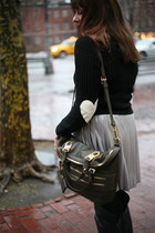 In Love with Fashion sweater - Allibelle bag - Guess skirt