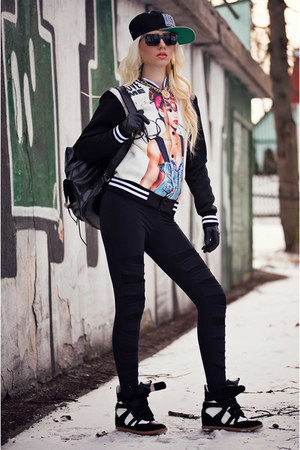 black StyleMoi jacket