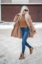 brown Tomtop sweater - light brown sammydress boots