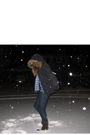Dancing in the snow