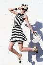 Black-inlovewithfashion-dress-white-vintage-bag