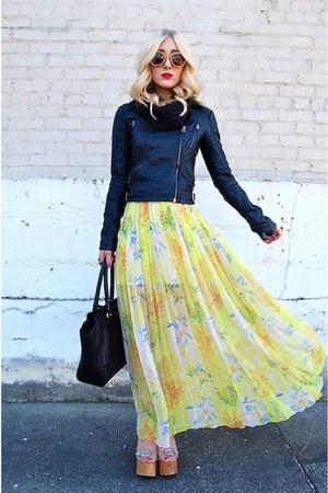 yellow maxi dress Urban Outfitters dress
