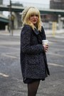 Black-bcbg-skirt-navy-bcbg-coat-white-forever-21-hoodie