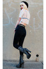 Black-jeffrey-campbell-boots-black-skinny-jeans-cheap-monday-jeans