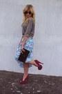 H-m-shirt-dorothy-perkins-skirt-deezee-heels