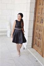 black black Jason Wu for Target dress - light pink Badgley Mischka heels