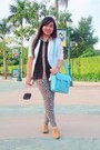 Light-blue-satchel-cole-haan-bag-tan-oxford-tomato-shoes