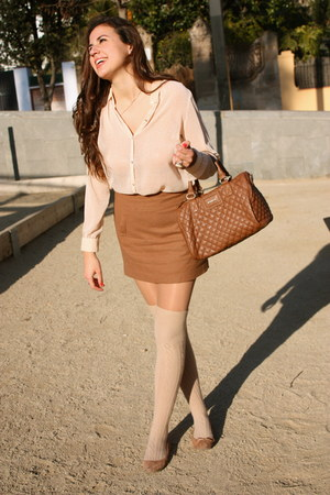 Zara blouse - H&M skirt