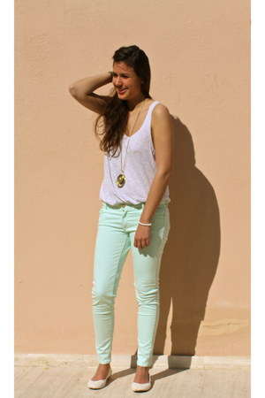 aquamarine Zara pants