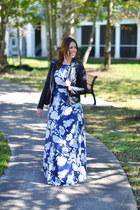 makemechic dress - BLANKNYC jacket - Rebecca Minkoff purse