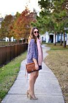 Lush dress - free people scarf - Rebecca Minkoff purse