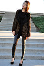 Crimson-vintage-jacket-black-unknown-brand-shirt-black-unknown-brand-legging