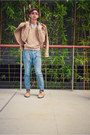 Black-converse-john-varvatos-shoes-tan-cable-and-co-shoes