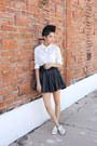White-sheer-vans-blouse-black-faux-leather-biography-skirt