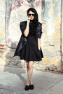 Black-studded-loafers-steve-madden-shoes-black-cotton-thats-it-dress