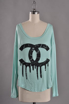 dripping chanel top