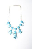 bubble necklace necklace