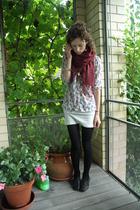 shoes - shirt - skirt - scarf