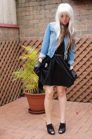 Dont Ask Amanda jacket - sass&bide dress - vintage gloves - Sportsgirl belt - Sp