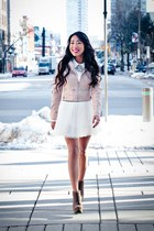 white tulle skirt Urban Behaviour skirt