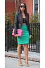 Bandeau-urban-outfitters-shirt-hot-pink-forever21-purse
