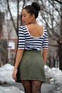 Stripes-forever21-dress-fishnet-aldo-tights-forever21-skirt