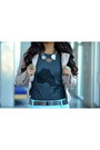 Gray-cotton-tiebreak-tees-t-shirt-light-pink-pleather-charlotte-russe-jacket