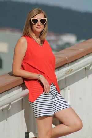 eggshell Zara sunglasses