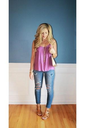 Target jeans - Michael Kors bag - Charlotte Russe heels