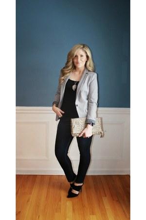 Target jeans - H&M blazer - Charlotte Russe heels