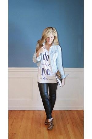 H&M pants - Kristen Cavallari heels
