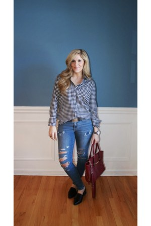 Forever 21 shirt - Target jeans - Forever 21 loafers