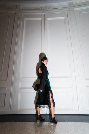velvet zaful dress