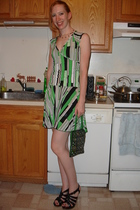 Ebay dress - purse - Ebay shoes