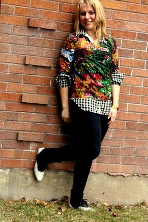 black skinny jeans American Rag jeans