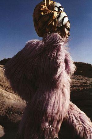 gold accessories - pink coat