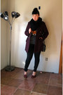 Wool-peacoat-black-rivet-coat-gojane-jeans-fox-print-target-sweater