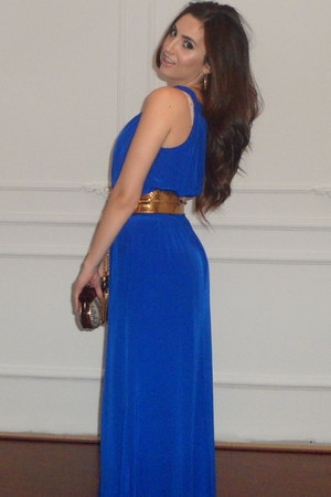 blue Jay Godfrey dress - Rocio bag - Gucci belt