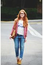 Tawny-boots-blue-boyfriend-7-for-all-mankind-jeans-salmon-blazer