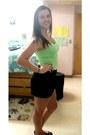 Stretch-tank-h-m-shirt-mini-express-skirt