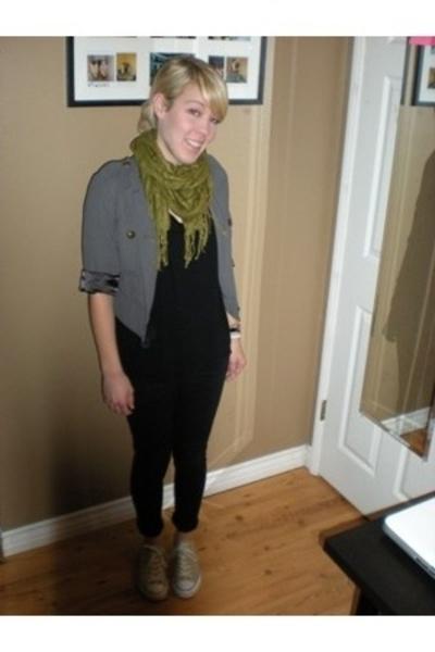 Alice Temperley for Target jacket - scarf - American Apparel shirt - Topshop pan