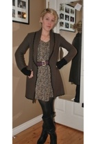 Alice Temperley for Target sweater - dress - seychelles boots - belt