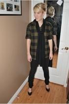 Newport News shirt - Joes Jeans jeans - seychelles shoes