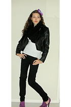 sashimi jacket - American Apparel t-shirt - It jeans jeans - American Apparel sc