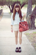 bag - shoes - shorts