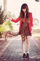 blazer - UNIF skirt